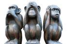 los 3 monos sabios
